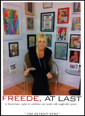 Lisa Freede Is Featured im The Detroit News FREEDE AT LAST